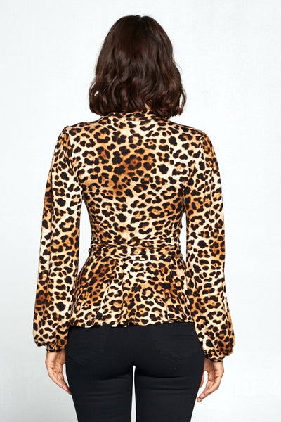 Always Cute Leopard Top
