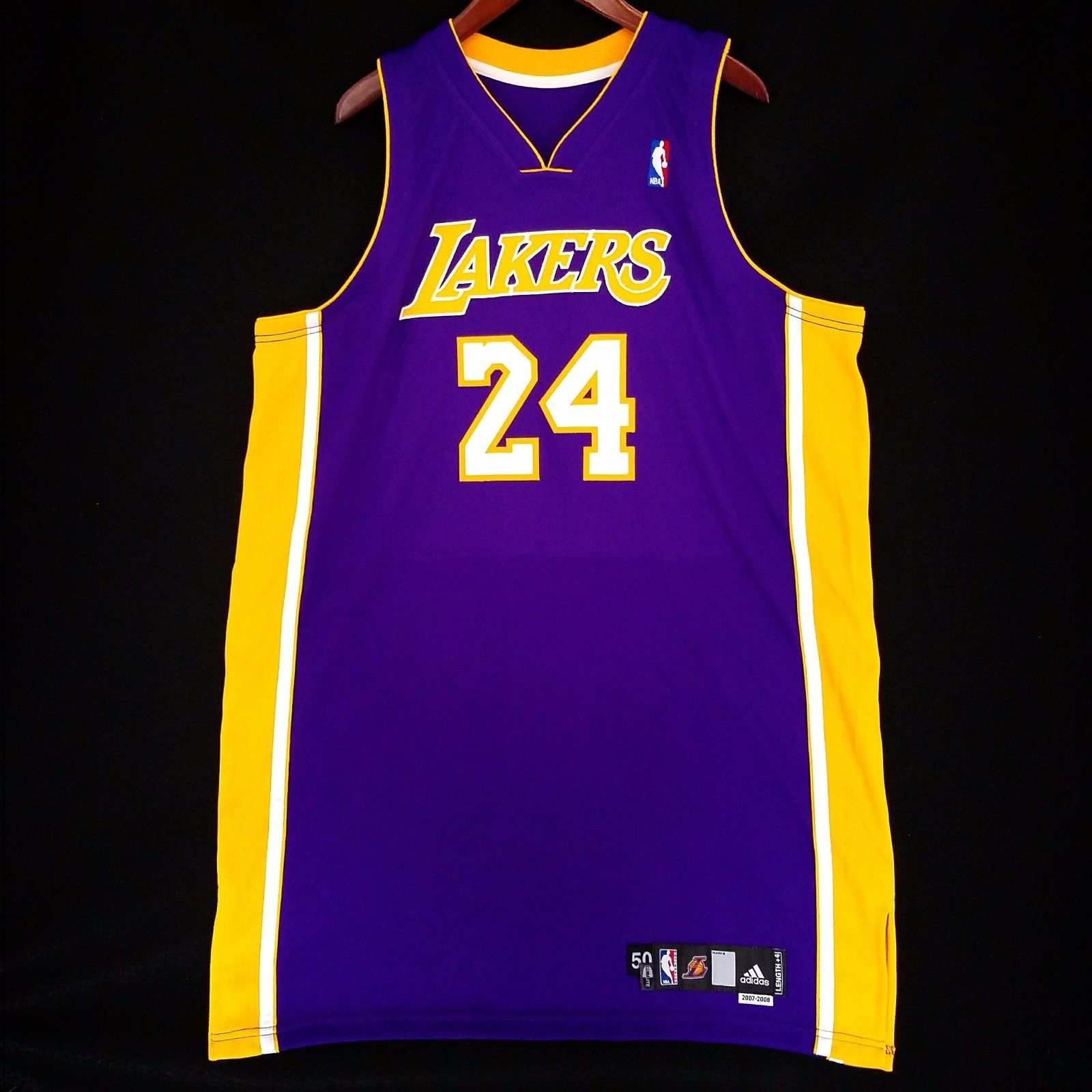 672d84a292c7 ... Bryant Los Angeles Lakers Adidas Authentic Pro Cut Jersey. Kobe ...