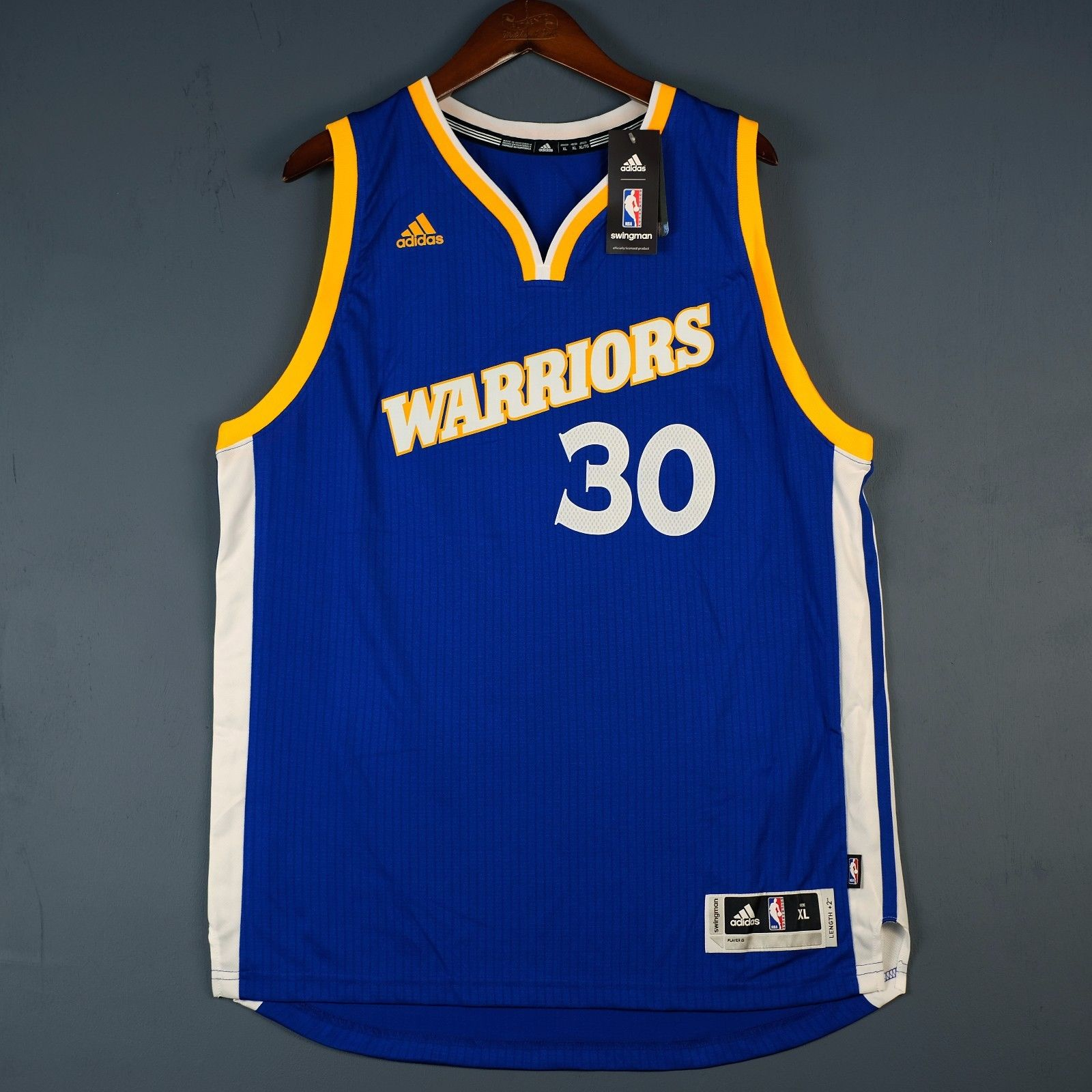 b81384cec55 Stephen Curry Golden State Warriors Adidas Swingman Jersey · Stephen Curry  Golden State Warriors Adidas Swingman Jersey