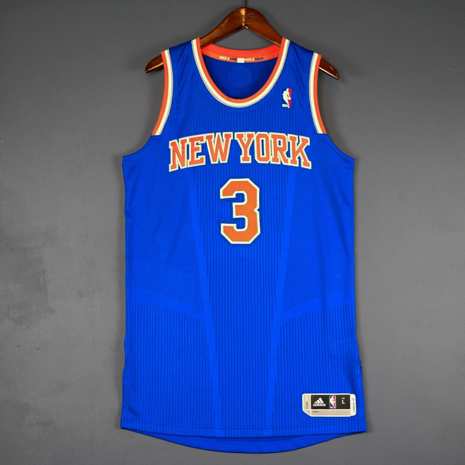 72d39bc84 ... store john starks new york knicks adidas revolution 30 authentic jersey.  john starks new york