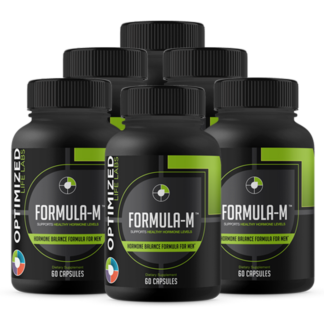 Formula-M: Natural Hormone Optimization For Men Over 40