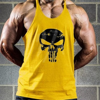 The Punisher men's Sleeveless Shirt Tank Tops