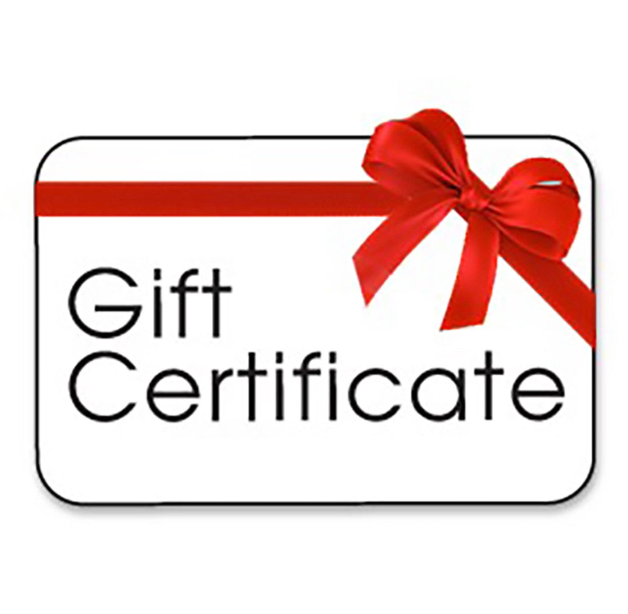 Gift Certificates for Services