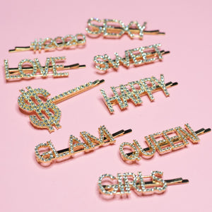 DIAMOND PRINCESS HAIR CLIPS
