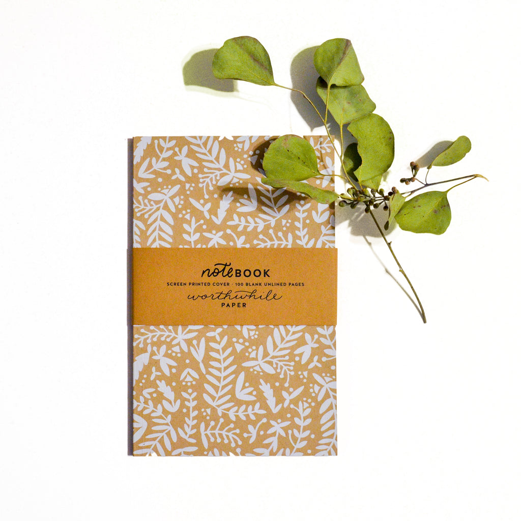 Nature Shapes Notebook