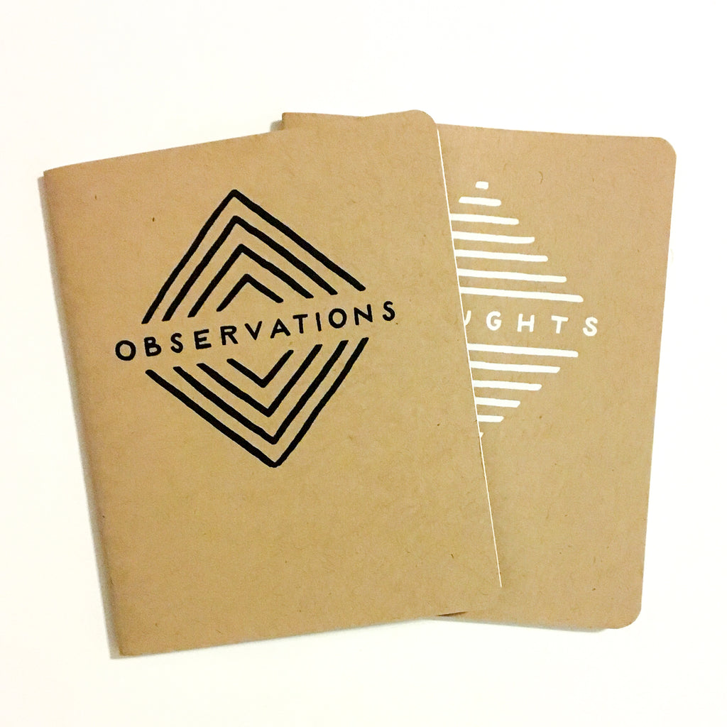 Pocket Journal Set - Thought & Observations - Shop Emancipation