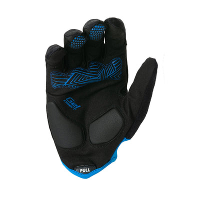 GUANTES LARGOS TRIP | BLACK/BLUE
