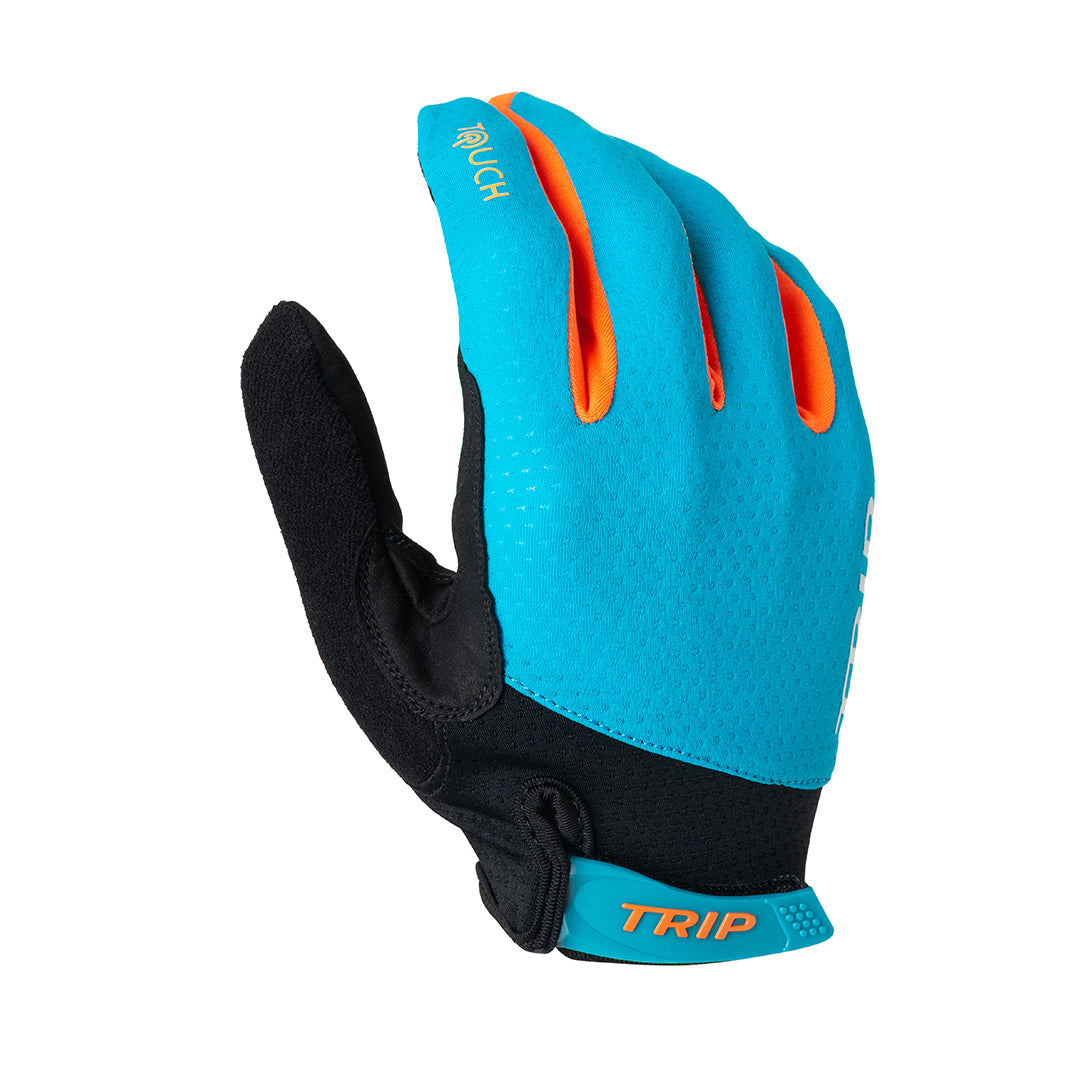 GUANTES LARGOS TRIP | ORANGE/BLUE