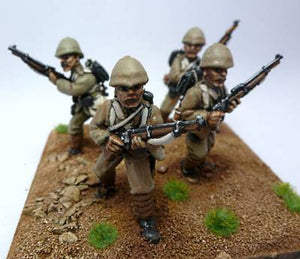 Commission 28mm Afghan Wars British Infantry