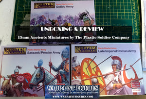 Unboxing & Review - 15mm Ancients for MEG by Plastic Soldier Company