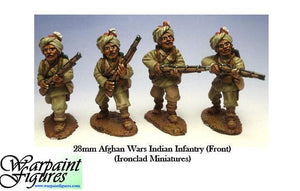 28mm Afghan Wars Indian Infantry