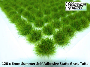 6mm Static Grass Tufts