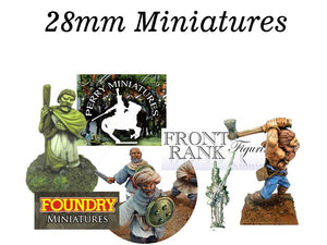 28mm Wargaming Miniatures & Figures