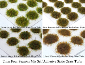 2mm Static Grass Tufts