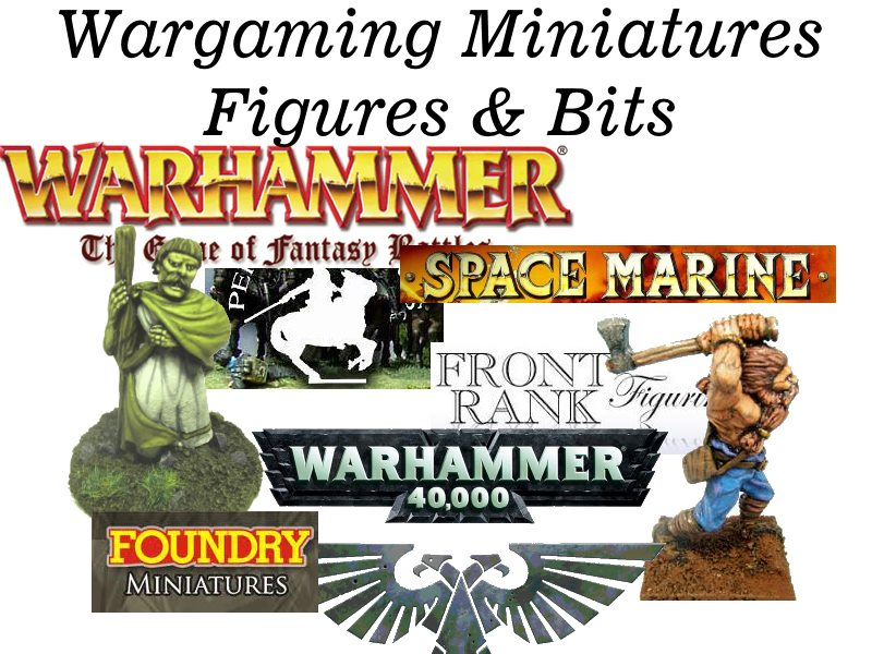 Miniatures Figures & Bits
