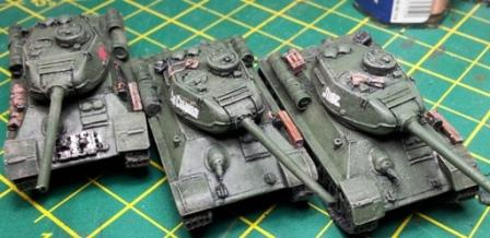 Painting FOW Russian T34 tank crew