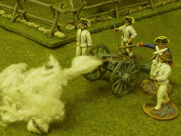 Commission by Warpaint Figures - 40mm AWI Front Rank British Artillery