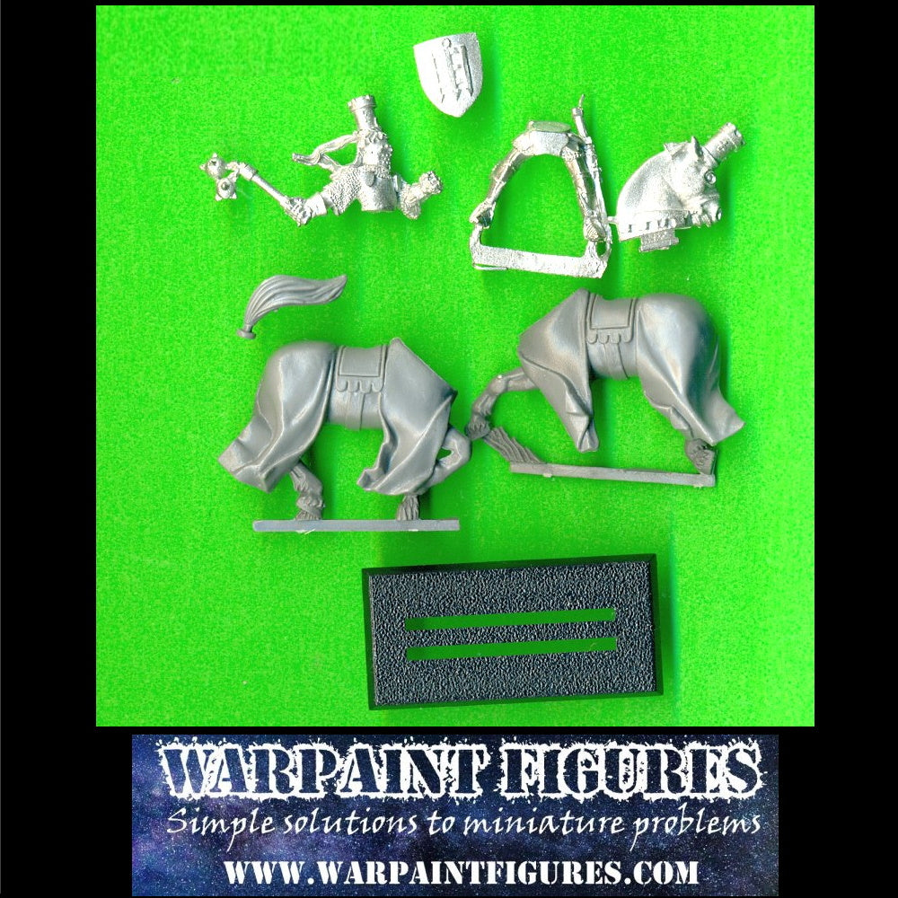 OOP WFB 1998 GW Bretonnian Knight Of The Realm Hero