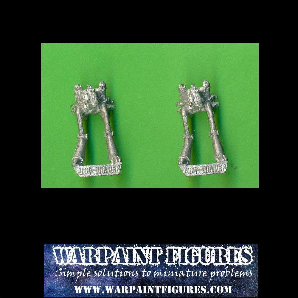 1988 Epic 40K (Space Marine) - Eldar War Walkers x 2 Metal