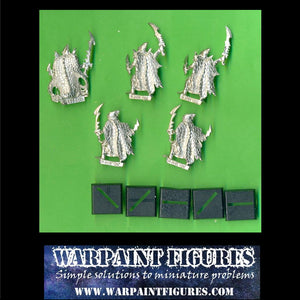 5 x Classic metal Dark Elf Black Ark Corsairs