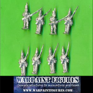 SAVE 33% - 8 x 28mm Wargames Foundry Early British Napoleonic Flank Cpy