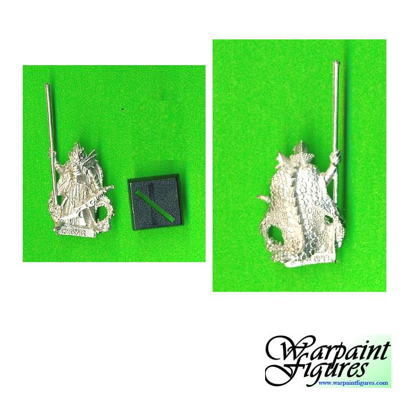 OOP 1999 GW WFB Dark Elves Corsairs Standard Bearer
