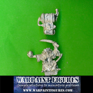 Warpaint Figures - For Sale 1993 Games Workshop WFB Skaven Poison Wind Globadier