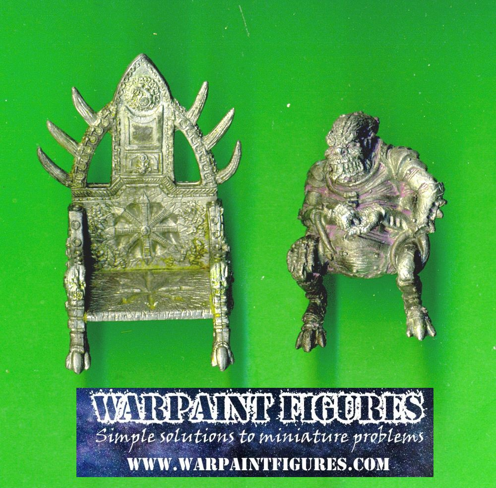 For Sale - OOP 1989 OOP 40K Tyranid Patriarch On Throne