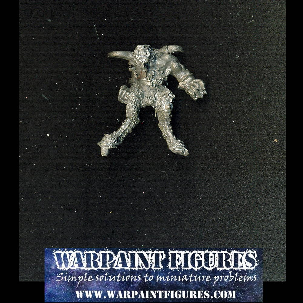 OOP Games Workshop 1989 WFB AOS Minotaur Lord