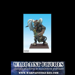 For Sale - Warpaint Figures - Rackham Confrontation BNIB Kelt Drunes Minotaur - Metal