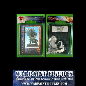 For Sale - Rare Metal - New in Blister - Rackham Confrontation BNIB Kelt Drunes Minotaur