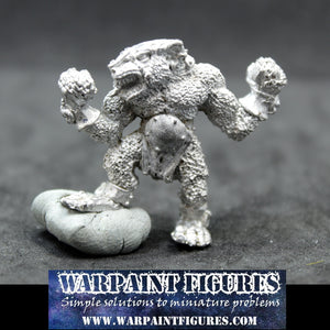 Warpaint Figures - OOP 1989 Games Workshop Warhammer Fantasy Battle Blood Bowl Skaven Rat Ogre