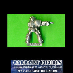 OOP 1993 GW 40K Space Marine Blood Angels Sergeant