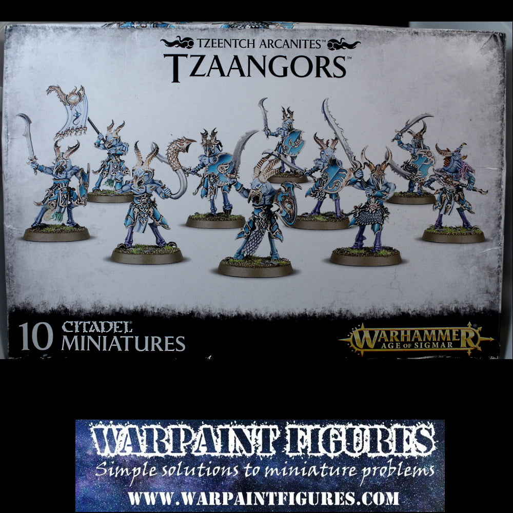 Save 20% - GW Age Of Sigmar Tzeenncth Tzaangors - New In Box