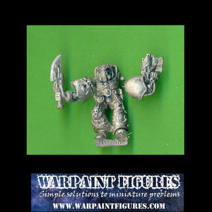 OOP 1989 40K Space Marines Power Axe Terminator #2