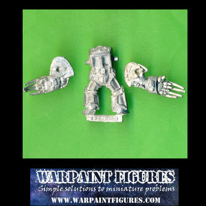 Warpaint Figures Collectors Club - Metal 1989 Space Marines Terminator with double Lightning Claws - For Sale