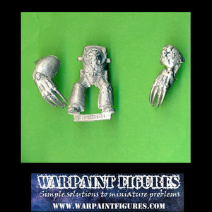 For Sale - Warpaint Figures - OOP 1989 40K Space Marines Terminator Lightning Claws