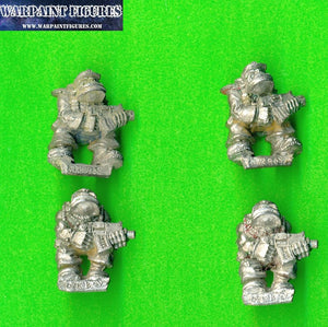 For sale - OOP 1989 Marauder Ork Boyz x 4 - Warpaint Figures