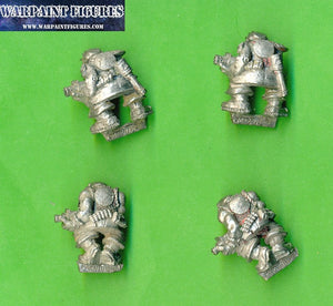 Warpaint Figures - For Sale - OOP 1989 Marauder Ork Boyz x 4