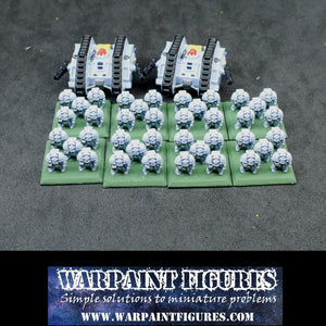 For Sale - Painted Epic 40K Space Wolves Terminator Detachment