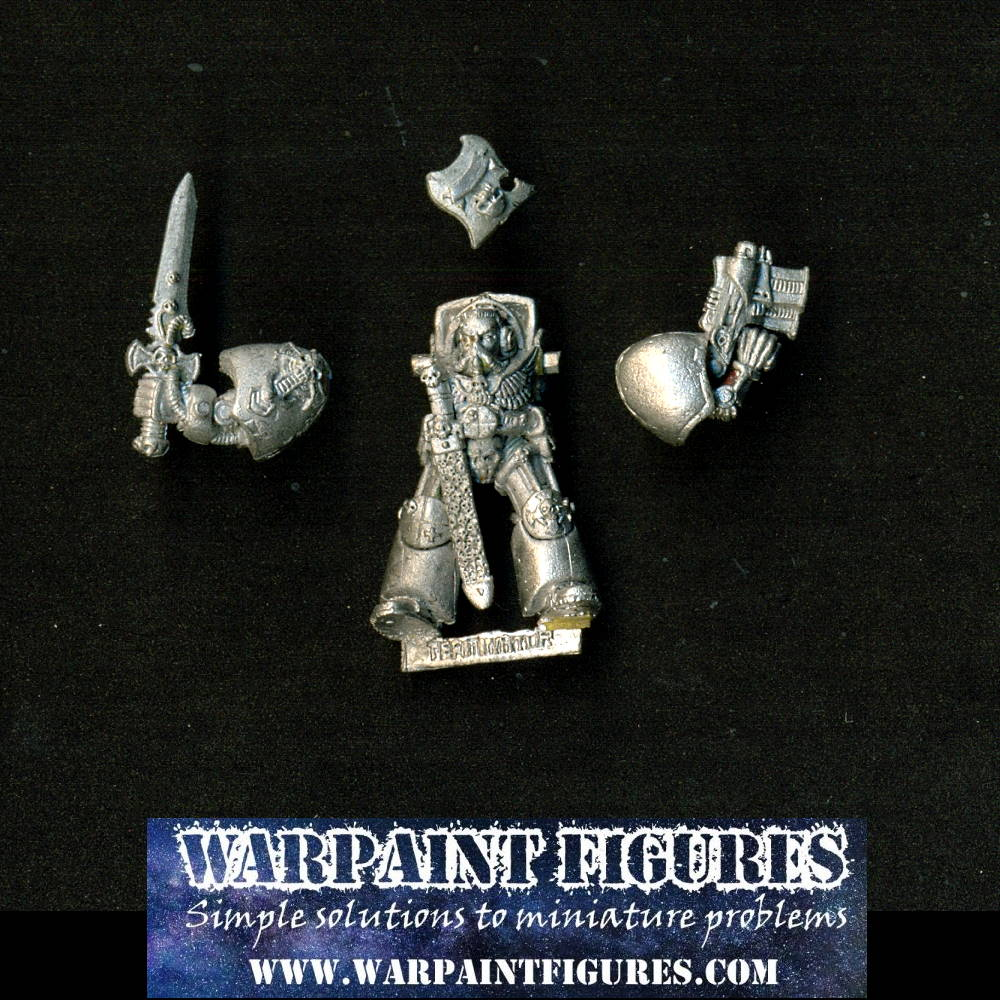 1989 Citadel Games Workshop Rogue Trader Warhammer 40K Space Marines Terminator Captain