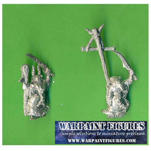OOP 1993 Skaven WFB AOS Plague Monks Command