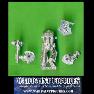 OOP 1989 40K Space Marines Terminator With Thunder Hammer