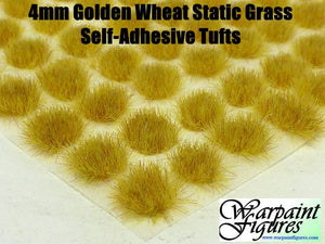 4mm Self Adhesive Static Grass Tufts