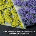 4mm Summer Mix Flowers Random Static Grass Tufts