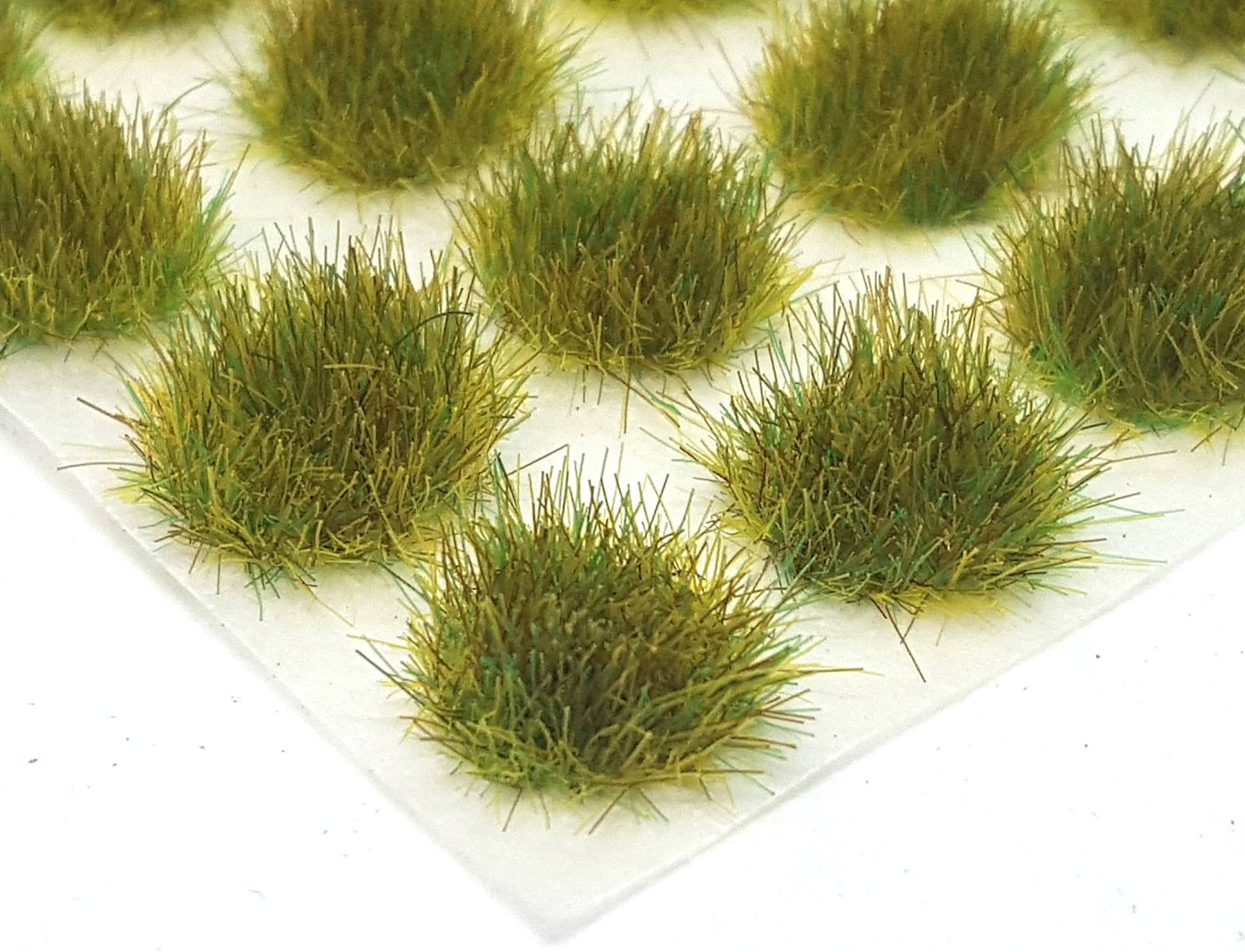 x117 4mm Hay grass tufts Self adhesive static model wargames scenery