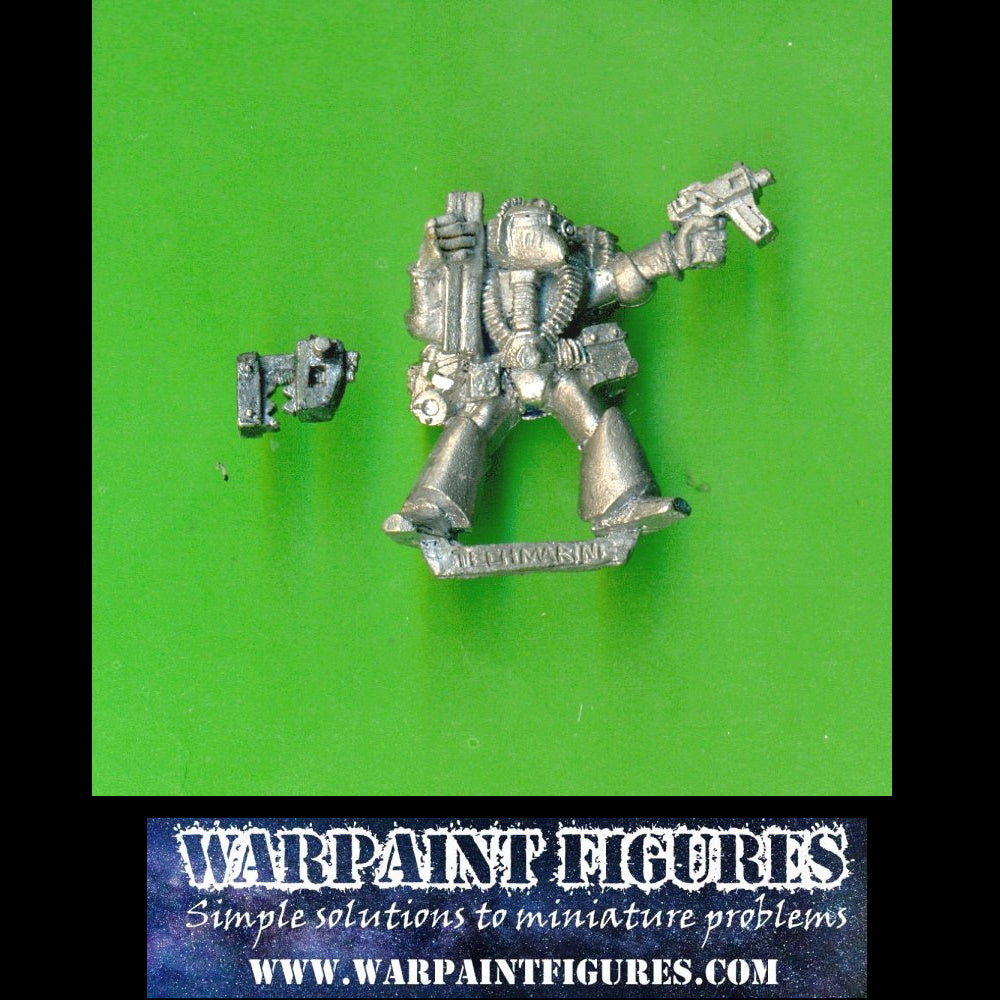 For Sale - Warpaint Figures - OOP Games Workshop 1988 Warhammer 40K Rogue Trader Techmarine