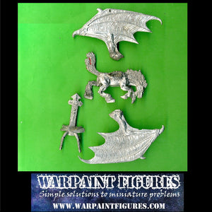 OOP Marauder Miniatures Dark Elves Sorceress on Dark Pegasus for sale