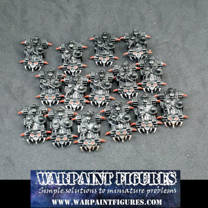 For Sale - OOP 15 x Warhammer Epic 40K Ork Battle Wagons