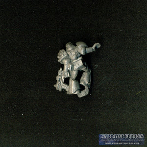 Warpaint Figures - OOP Citadel/Games Workshop 1989 Warhammer 40K Rogue Trader Tactical Space Marine with Bolter